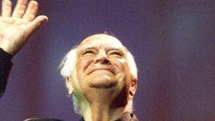 Antonio Isasi-Isasmendi, en la ceremonia de los Premios Goya.