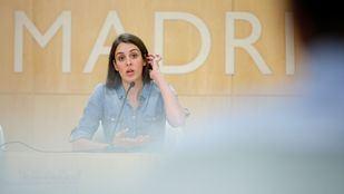 Rita Maestre, en rueda de prensa.