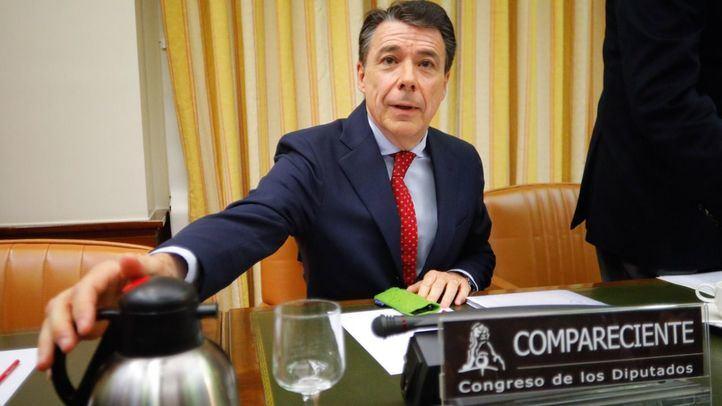 El expresidente de la Comunidad de Madrid, Ignacio gonzález, en su comparecencia ante la comisión de investigación de la financiación de los partidos políticos del Congreso de los Diputados.