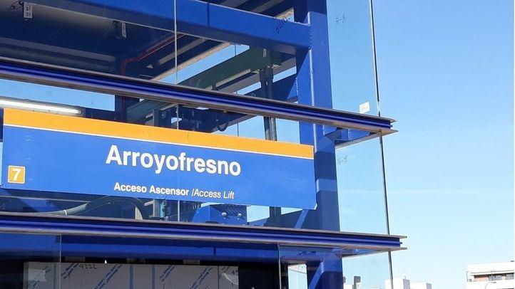 La estación de Metro de Arroyofresno abre sus puertas este sábado