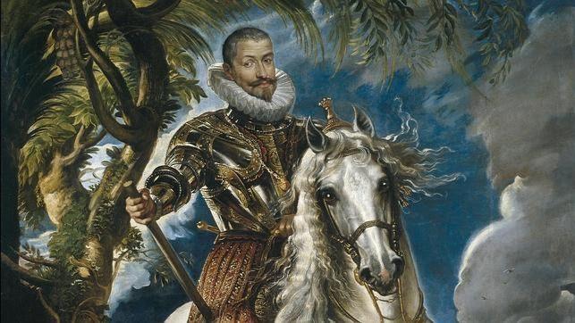 Retrato del Duque de Lerma pintado por Rubens.