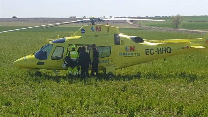 Helicóptero del SUMMA