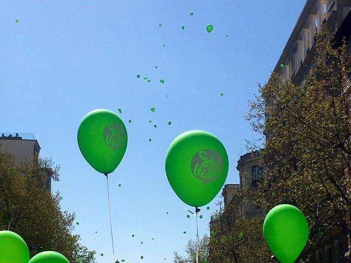 PP y Vox, juntos de nuevo en la marcha provida celebrada en Madrid