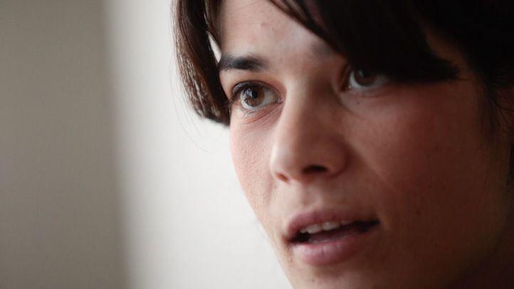 Isabel Serra, candidata de Podemos a la presidencia de la Comunidad de Madrid, en un momento de su entrevista con 'Madridiario'.