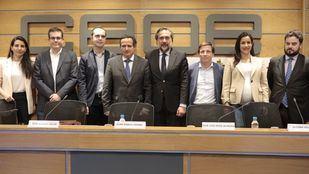 El Ayuntamiento ofrece a los parkings de Madrid Central 'publicitarse' en una app