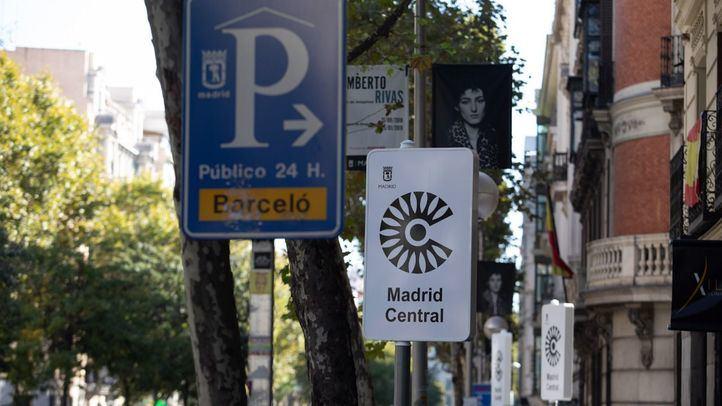 La Alcaldía ofrece a los parkings de Madrid Central 'publicitarse' en una app