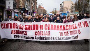 Los vecinos de Carabanchel volverán a manifestarse este martes por la tarde para pedir la construcción de los tres centros de salud prometidos por la Comunidad. (Archivo)
