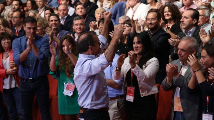 José Manuel Franco en el 13ª Congreso Regional del PSOE-M.