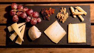 Tabla de quesos de Los Galayos