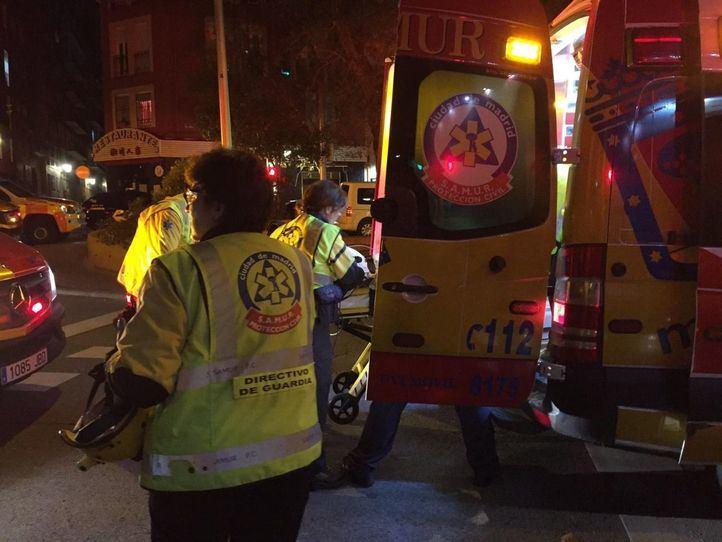 Dos heridos y un detenido tras una reyerta en la plaza del Cordón