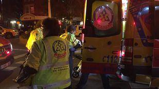 Los heridos son una mujer, que presentaba una herida en un costado, y un hombre con lesión en el brazo.