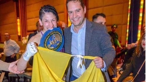 La boxeadora torrejonera Miriam Gutiérrez cierra los actos de la Semana de la Mujer