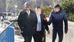 Alfredo Prada, exvicepresidente segundo y exconsejero de Justicia de la Comunidad de Madrid, a su llegada a la Audiencia Nacional