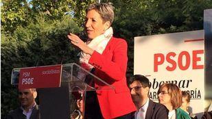 Lydia Martínez, excandidata socialista a la Alcaldía tricantina.