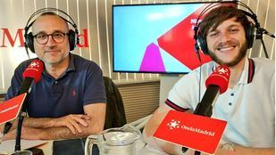 Los periodistas Ferrán Boiza y Javier García en Com.Permiso
