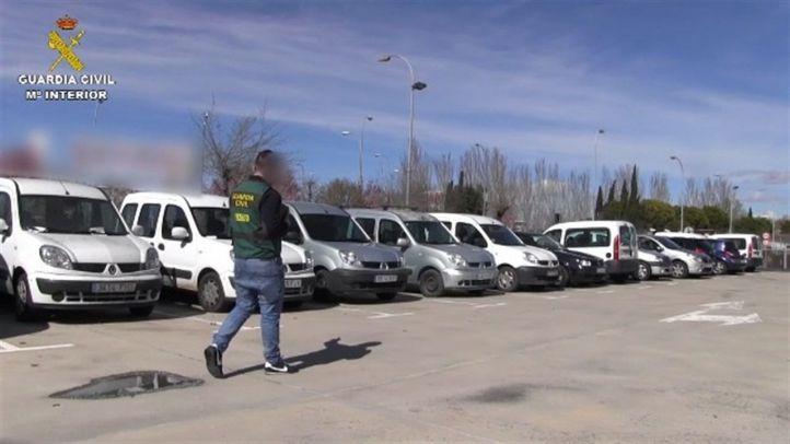 Detenidas ocho personas por el robo de más de 50 vehículos en toda la Comunidad