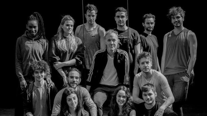 Elenco de la obra 'Federico hacia Lorca', que podrá verse en los Teatros del Canal.