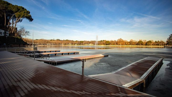 El lago de Casa de Campo, con pérdidas de agua tras su reforma
