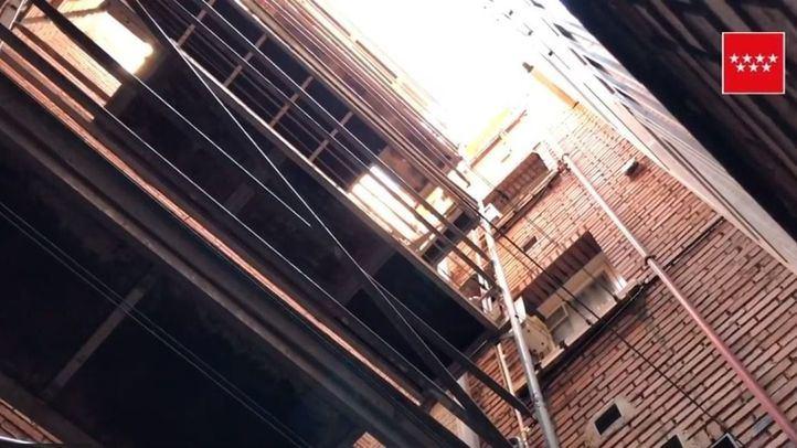 Herido grave un trabajador que ha caído desde un andamio en Coslada