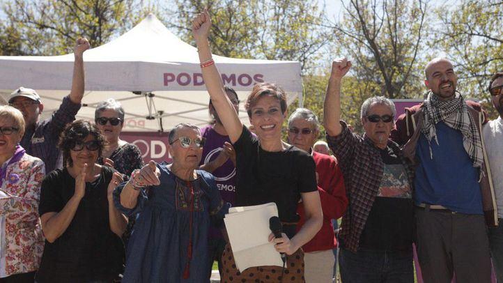 Gema Gil, candidata de Podemos a la Alcaldía de Leganés.