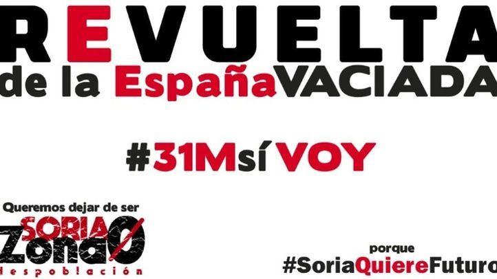 Cartel para la manifestación de la 'España Vaciada'.