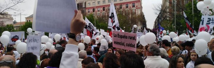 La 'España Vaciada' alza la voz contra la despoblación