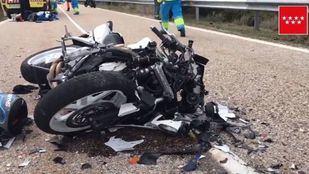 Dos motoristas se han visto implicados en un choque frontal.