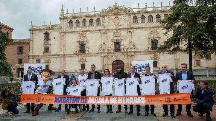 Presentación de la maratón de Alcalá de Henares, donde repetirán como embajadores Eva Moral y Fermín Cacho.