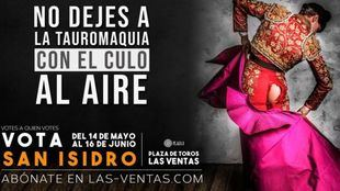 Las Ventas aprovecha el tirón electoral de los toros para una original campaña publicitaria de San Isidro