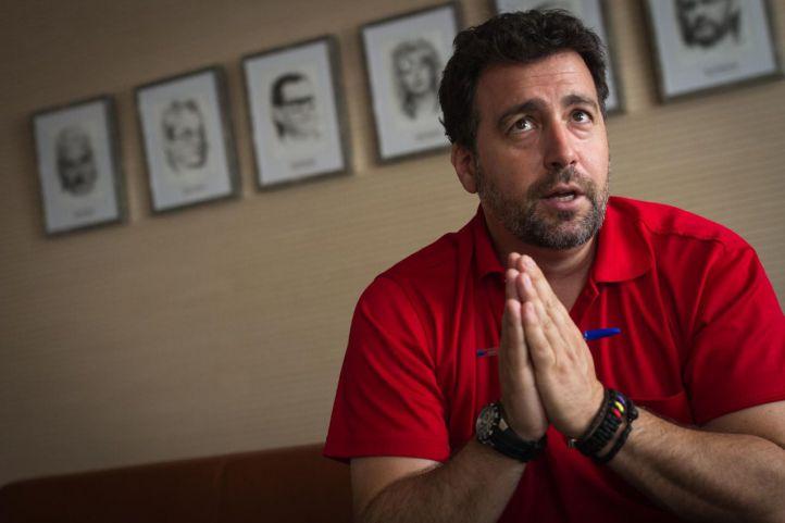 El actual alcalde de Rivas Vaciamadrid, Pedro del Cura.