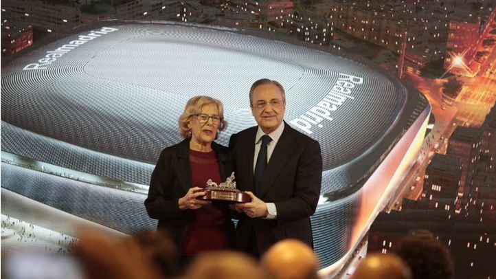 La renovación del Santiago Bernabéu entra en su recta final