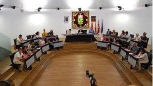 Pleno del Ayuntamiento de Parla