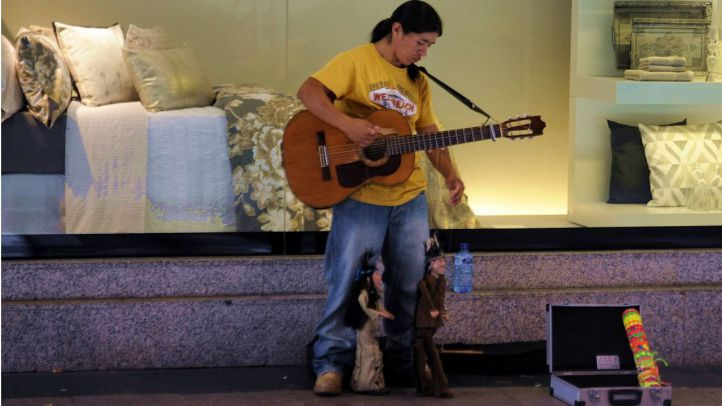 La Alcaldía decomisa los amplificadores de músicos callejeros sin autorización
