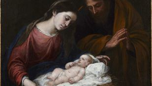 `La sagrada familia de Bartolomé Murillo