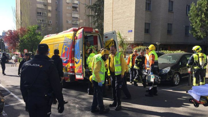 Un fallecido y dos heridos en un incendio en Ciudad de los Periodistas