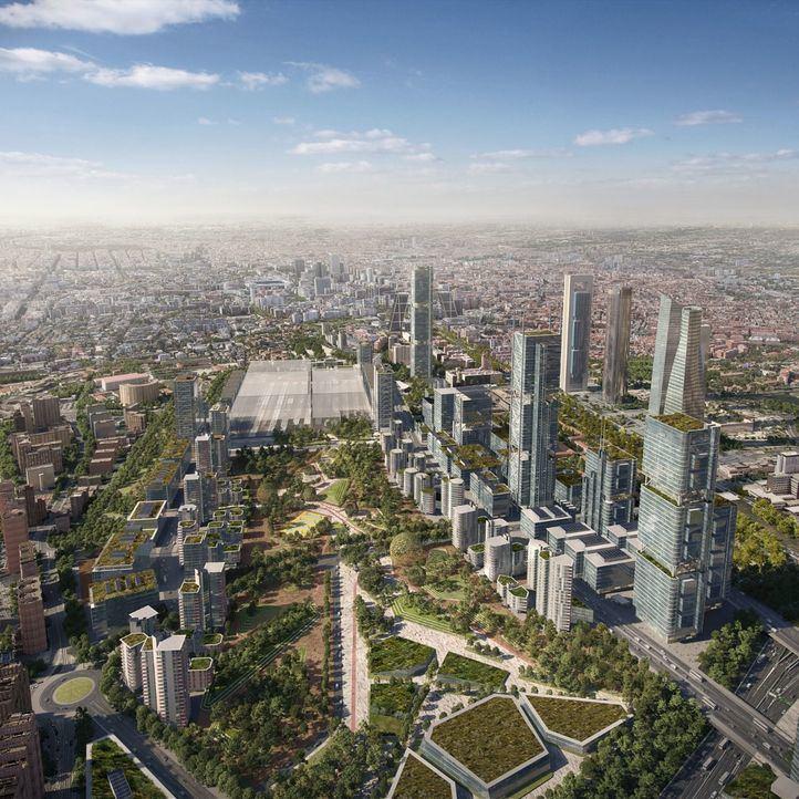 Abril, fecha límite para aprobar Madrid Nuevo Norte