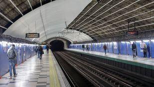 Estación de la línea 2 de Metro de Príncipe de Vergara.
