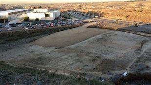 Terreno sobre el que trabajará el Ayuntamiento de Madrid para que la Comunidad construya el IES de Montecarmelo.