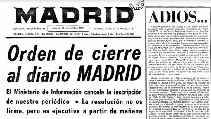 Sale a los quioscos el primer número del Diario Madrid