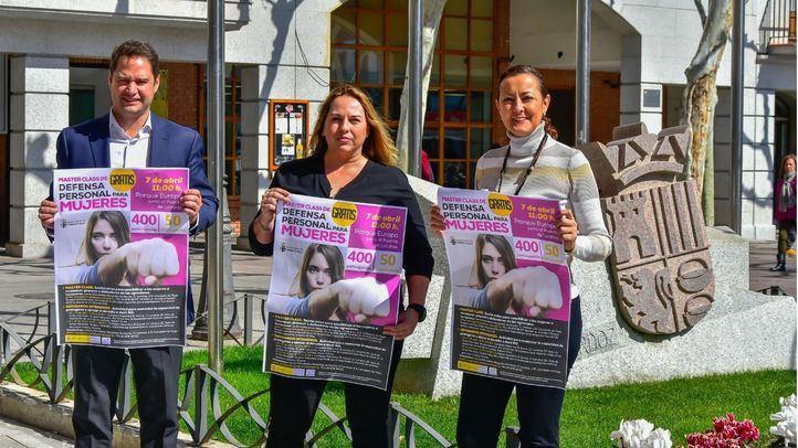 El Ayuntamiento de Torrejón de Ardoz organiza una Master Class de Defensa Personal para Mujeres