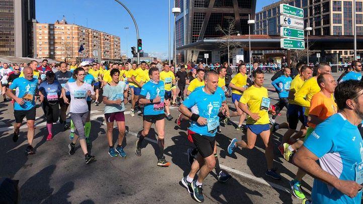 Cortes de tráfico este domingo por el Medio Maratón de Madrid