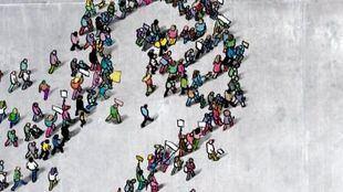 Cartel de la manifestación.