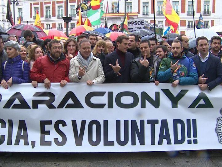 Policías nacionales y guardias civiles se unen para reclamar una equiparación salarial