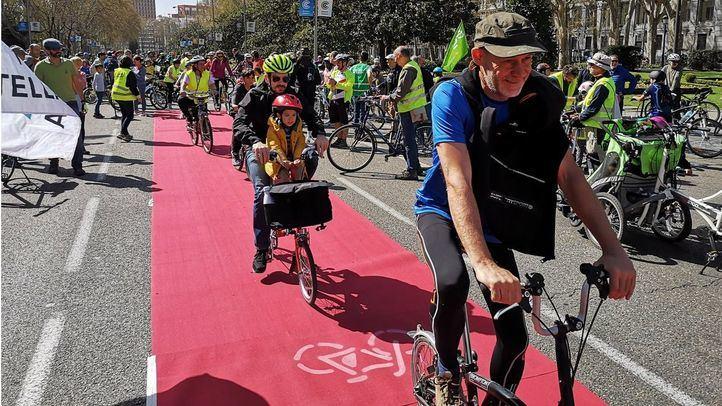 Iniciativa de Carril Bici Castellana para crear un nueva red Atocha-Plaza de Castilla.