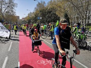 Ciclistas se manifestarán este domingo por una vía Atocha-Plaza de Castilla