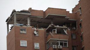 La planta del edificio en Vallecas donde se produjo una explosión será demolida