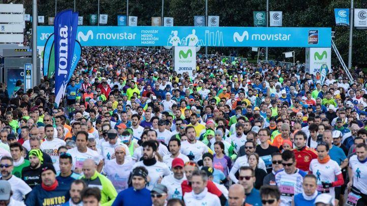 Medio Maratón de Madrid 2019.