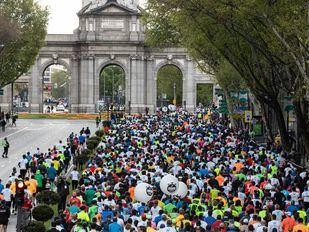 El keniata Kipkemoi Kiprono se hace con el récord del Medio Maratón de Madrid