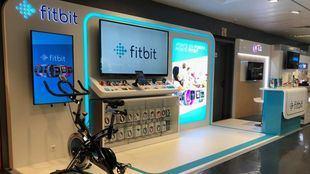 Tienda Fitbit en El Corte Inglés de Callao.