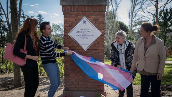 La Veneno, homenajeada con una placa en el Parque del Oeste